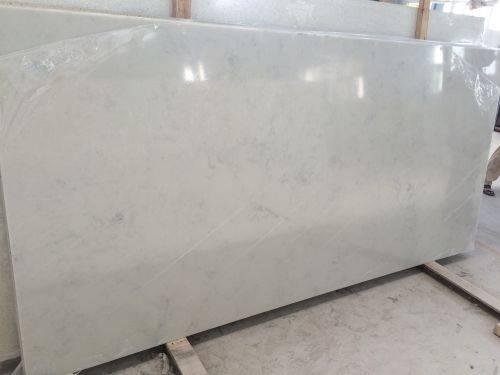 Artificial quartz stone slab white countertop