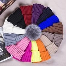 Knitted Custom Beanie Hat with Pom Pom