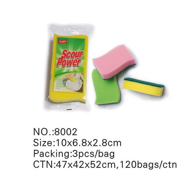 sponge scrubber (8003)