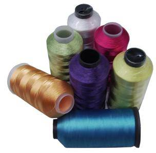 Polyester Embroidery Threads 120D/2 with 500TPM