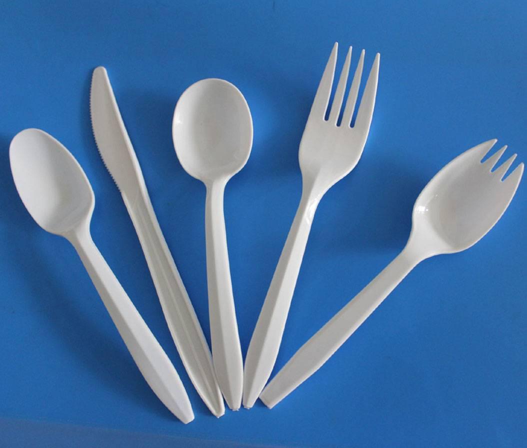 2.5g Polypropylene Tableware forks spoons knives