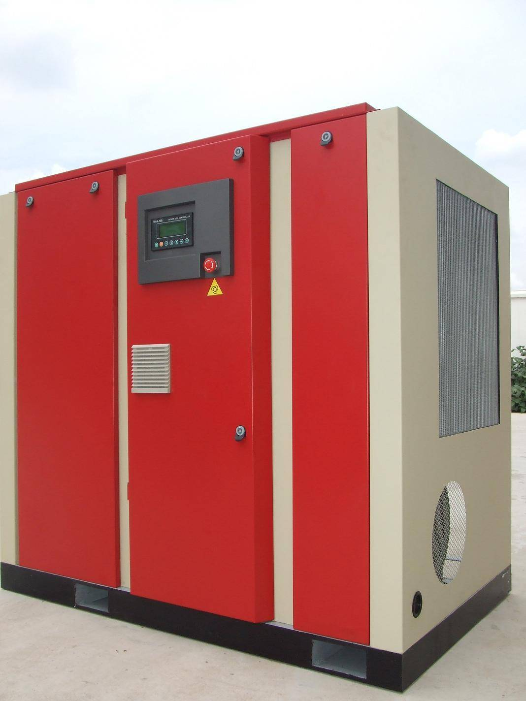220kw 300hp Copy - Screw Air Compressor with Frequency Converter