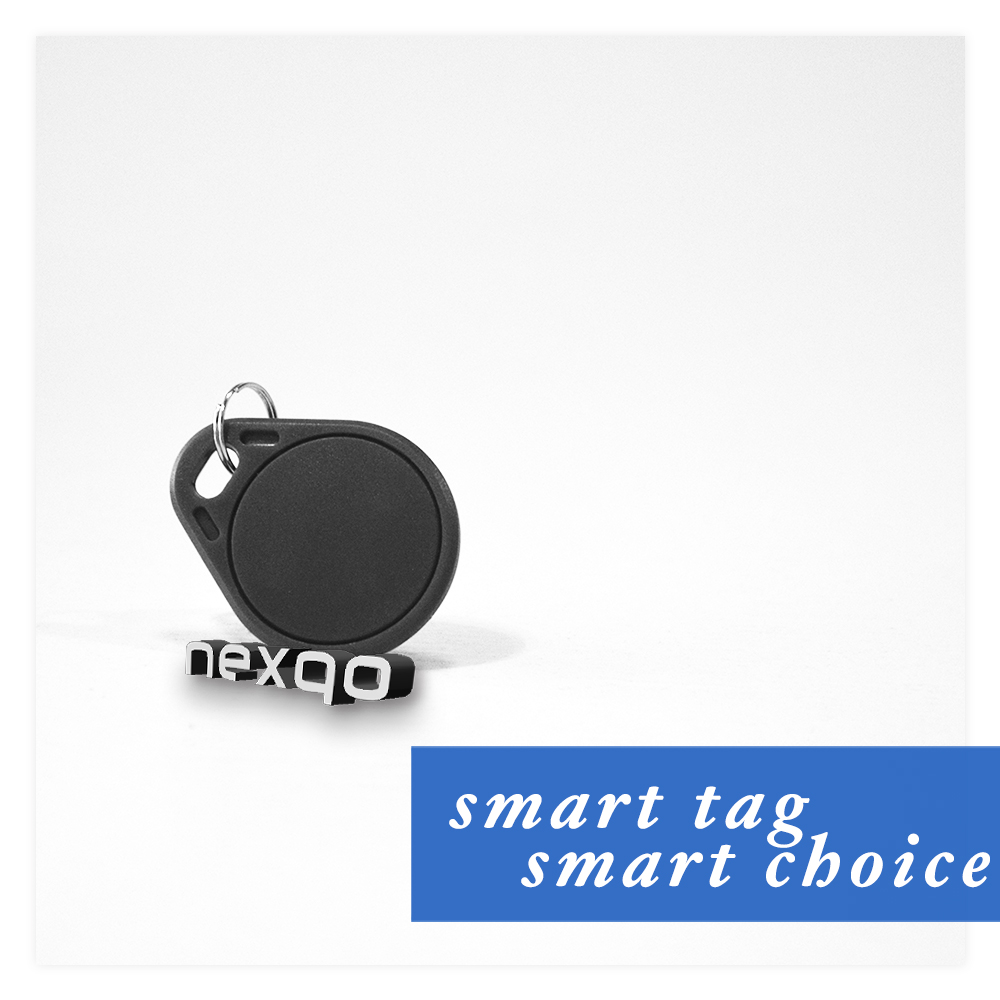ABS Plastic RFID Key Fob