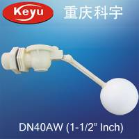 Offering DN40AW 1-1/2 Plastic Float Valve