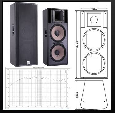powerful 2-way, full range loudspeaker systemCV-252B