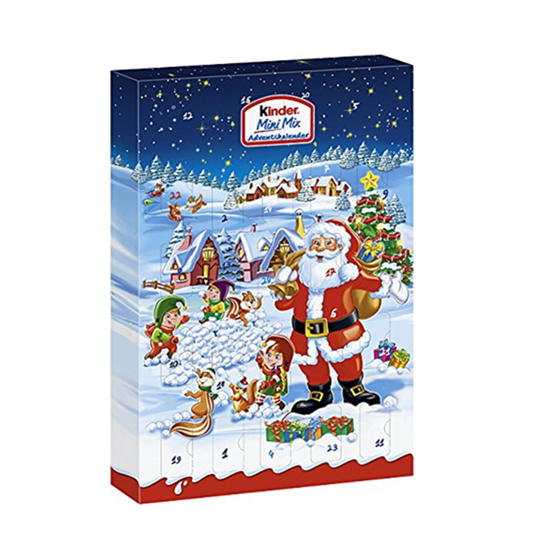 Custom christmas advent calendar boxes