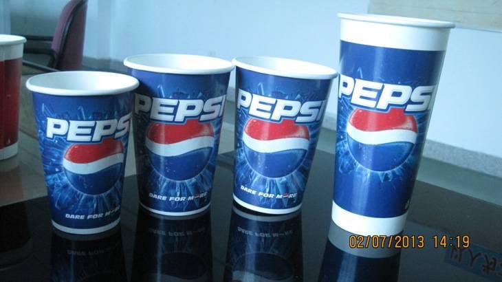 6.5OZ-22OZ Food grade cold drink Paper Cup