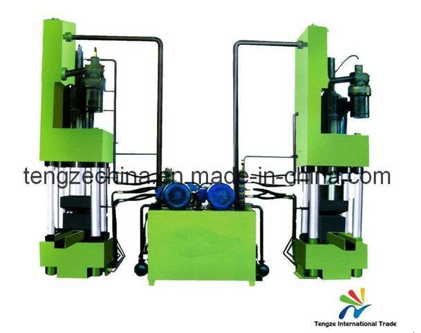 HYDRAULIC BRIQUETTE-MACHINE