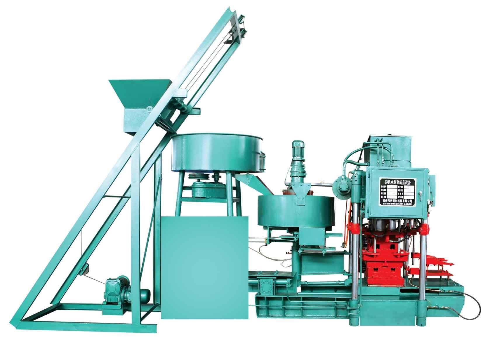 color tile making machine