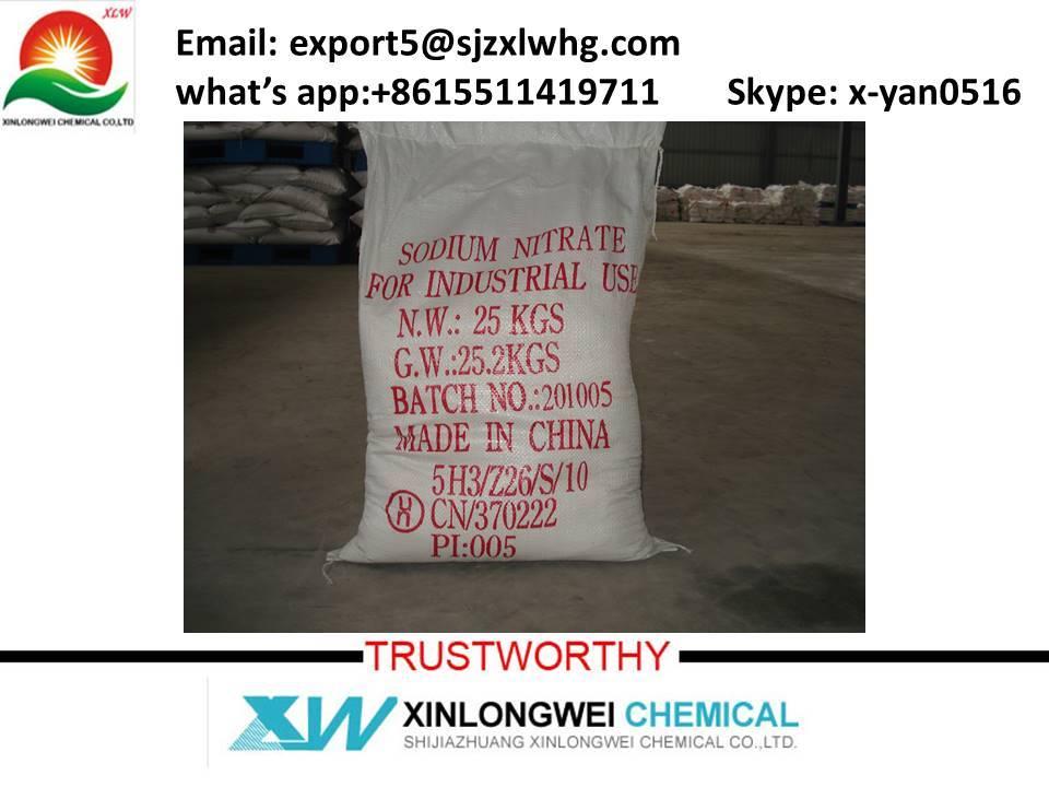 sodium nitrate 99%min, NaNO3 / CAS No. : 7631-99-4