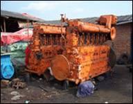 DAIHATSU Diesel generator unit