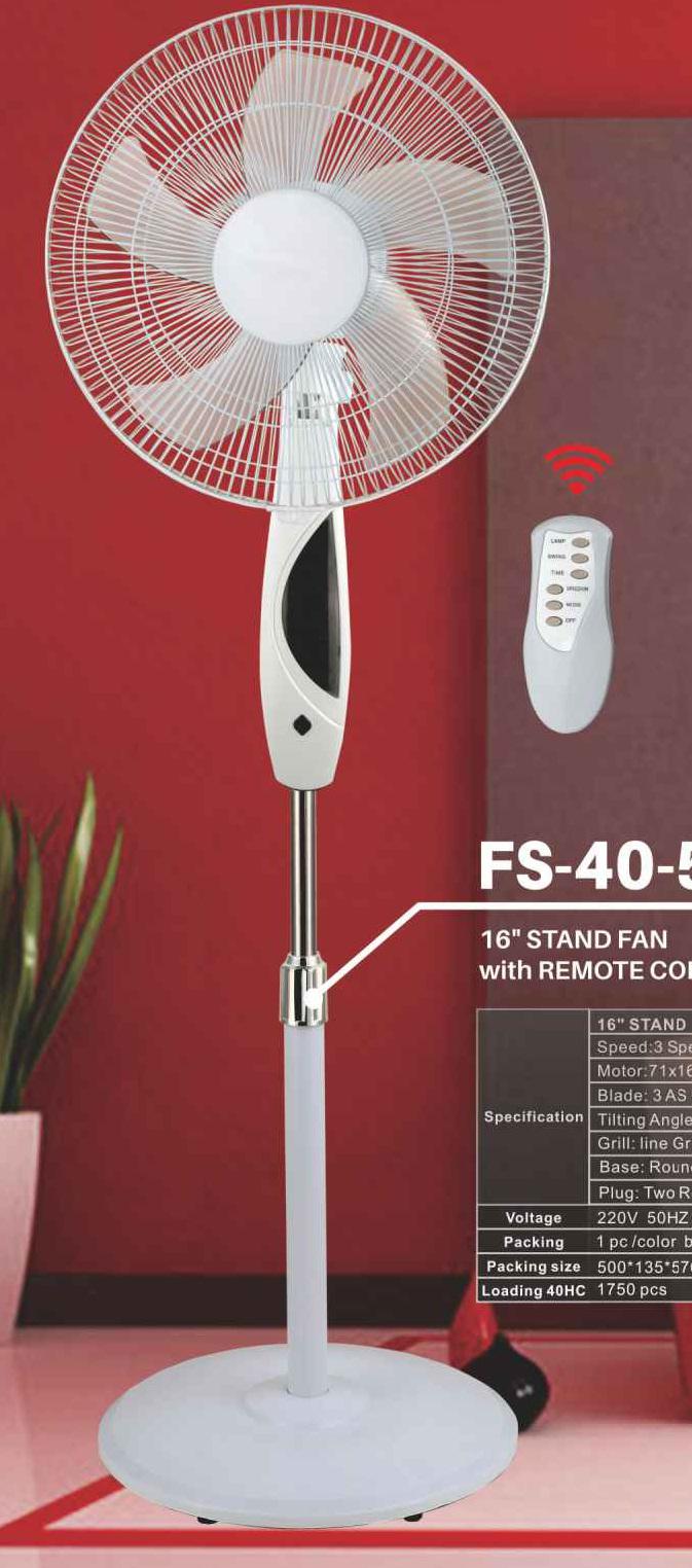"""16""""Stand Fan(FS-40-501R)"""