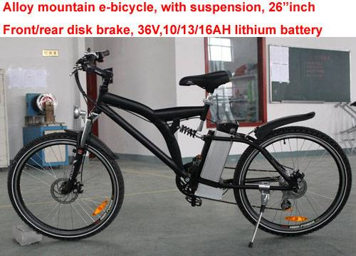 sell: Electric bicycles, alloy, mountain (E-TDF038)