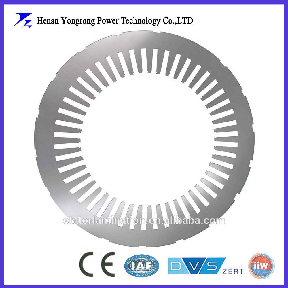 stator and rotor steel lamination for explosion-proof motor and generator