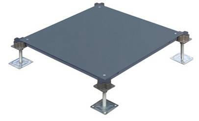 Manufacture steel raised flooring panel