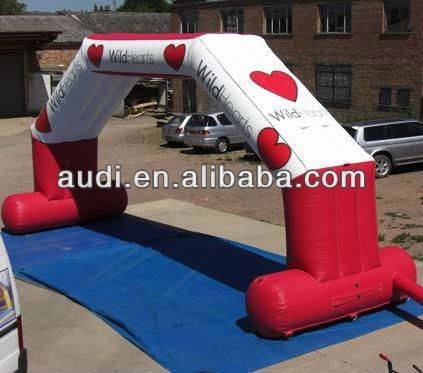 custom inflatable arch/archway/gate for race/event/party