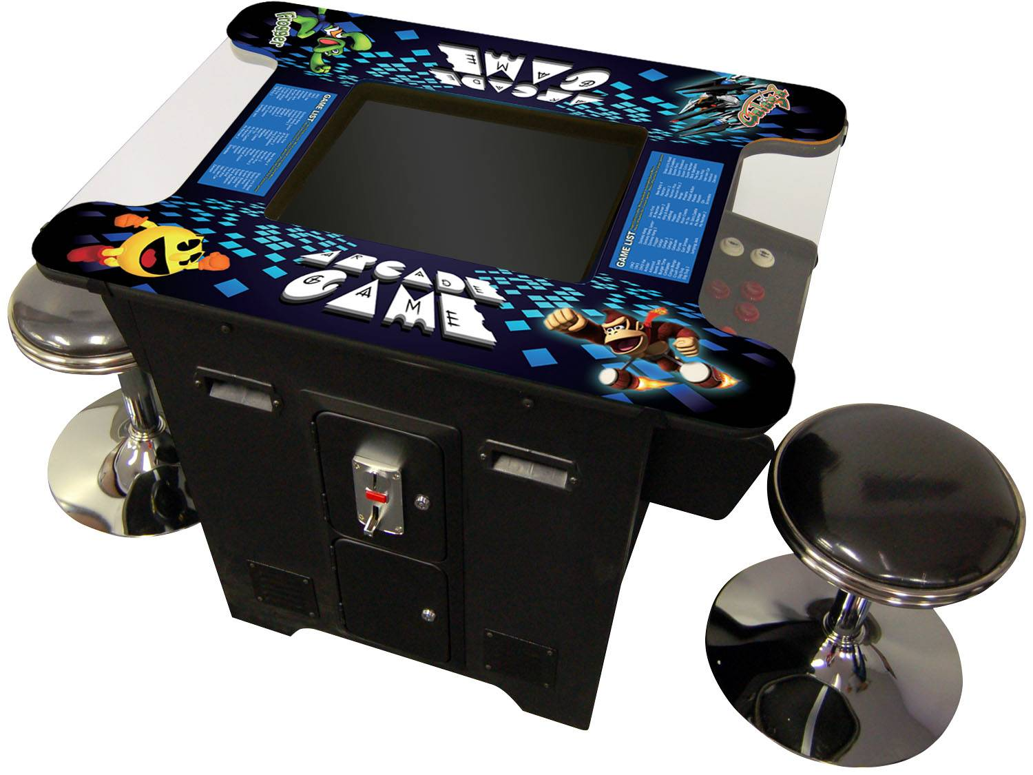 19 inch Cocktail Table Classic Game Machine For Pacman