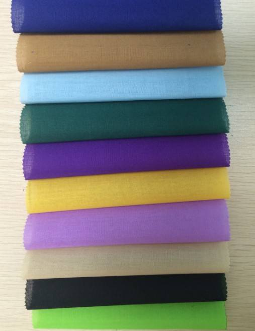 TC 65/35 Polyester/Cotton 45x45 88x64 Dyed 58/59 Pocketing Fabric