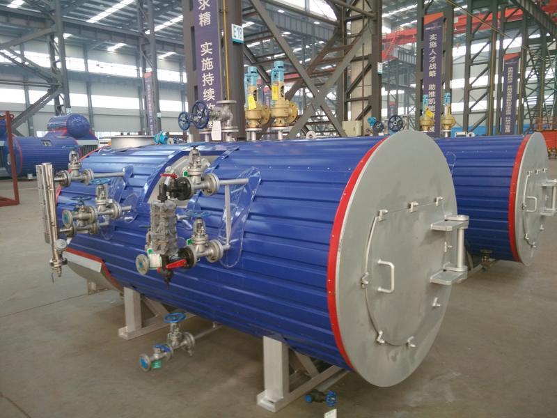 China Brand New Waste Heat Boiler, Horizontal Steam Boiler
