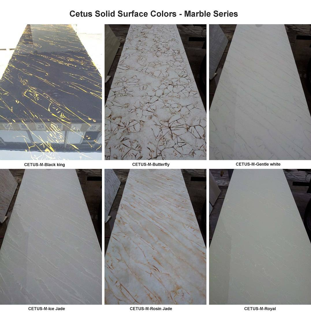 Construction Material Artificial Stone Solid Surface Sheet