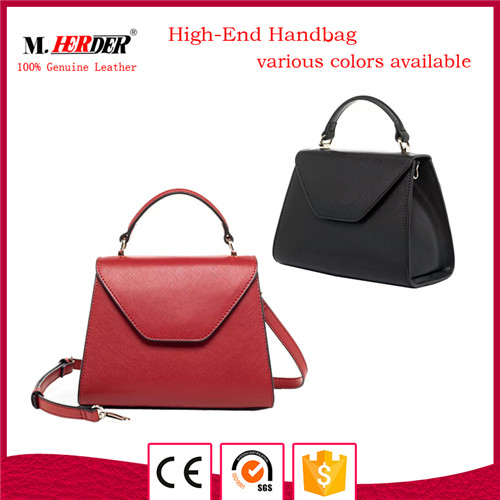 High quality women leather handbag MD9059