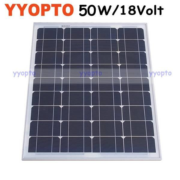 Mini mono solar panel 50W