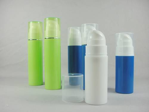 colored pe airless bottle
