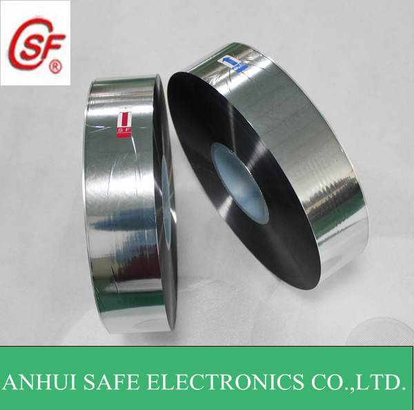 metallized film Excellent self healing BOPP metallized film for capacitor use