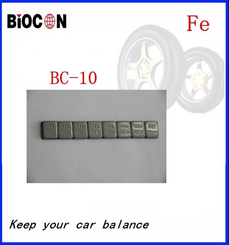 Fe wheel balance weight BC-10