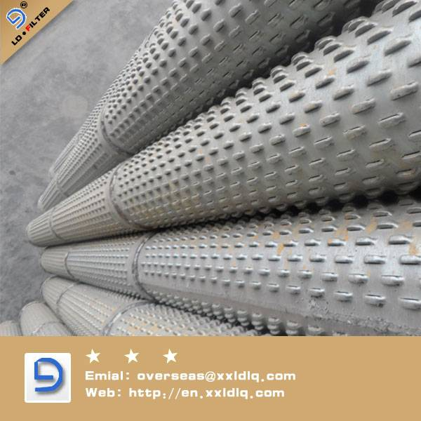 Galvanized Bridge Slotted Screen