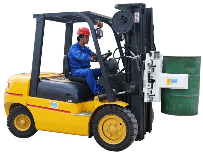 Efficiently Handling Equipment Drum Clamp