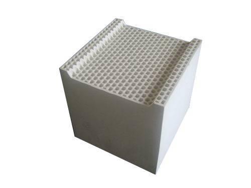 RTO honeycomb ceramic regenerator