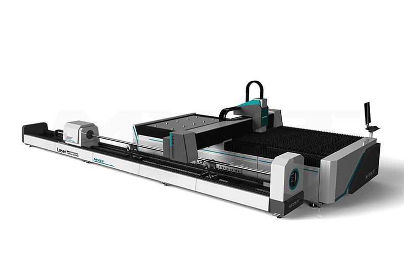 Excellent CNC Fiber Laser Cutting Machine With Rotary MTF3015R cnc laser cutting machine price
