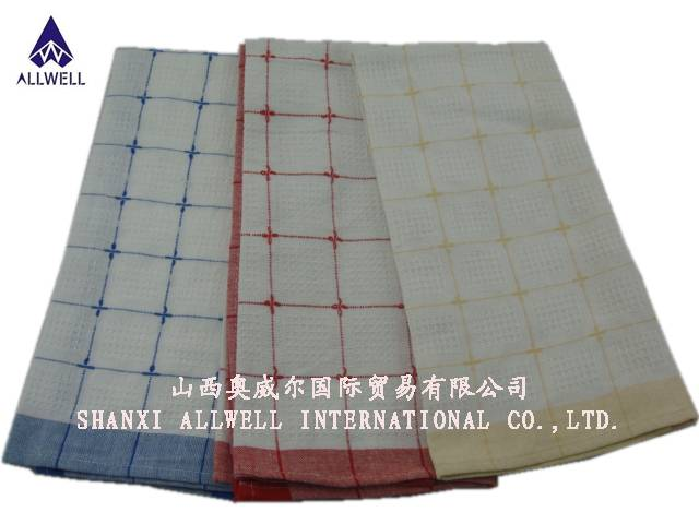waffle tea towel with high quality and excellent workmanship