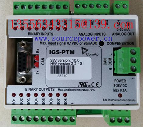 ComAp InteliDrive CCU ID-CCU InteliDrive Mobile ID-MOBILE InteliBifuel 20 IBF-2 Inteli IO8/8 I-IO8/8