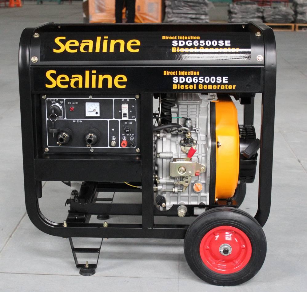 Sell 5KW Portable Open Type Diesel Generator