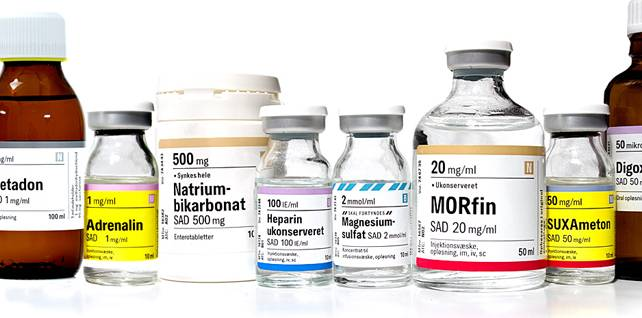 Medicine Adhesive Label