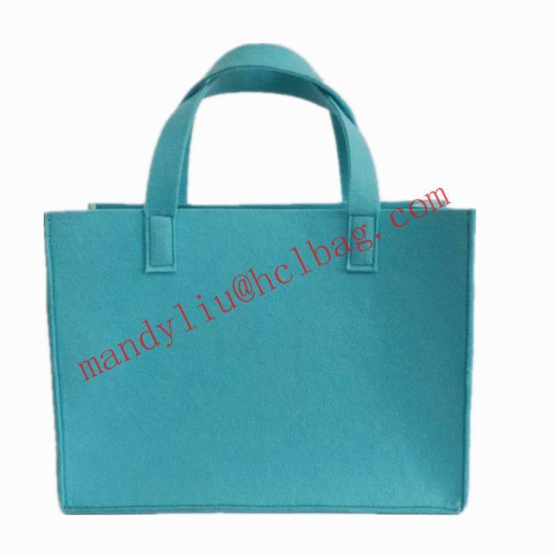 2014 hot selling felt shopping bag