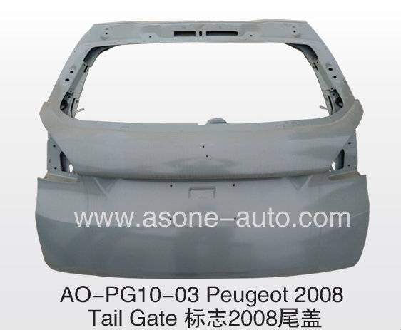 Asone Tail Gate For Peugeot 2008 Metal Body Parts