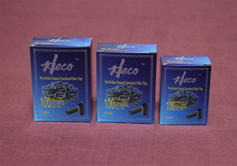 Heco pre-rolled paper filter tips