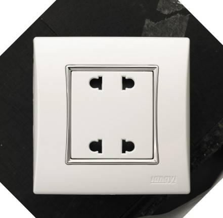 White Lighting Socket
