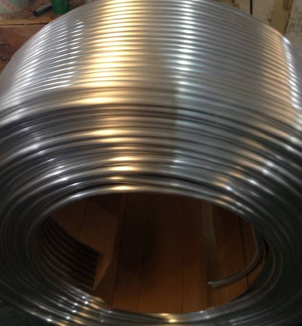hvac aluminum coil tube for air conditioning