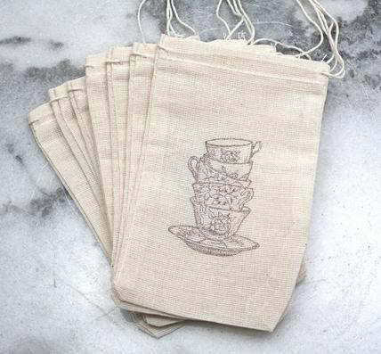 Cotton Tea Bag/ Muslin Bag/ Coffee Bean Bag/ Food Packing Bag