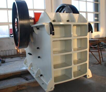 The application of the European version of jaw crusher