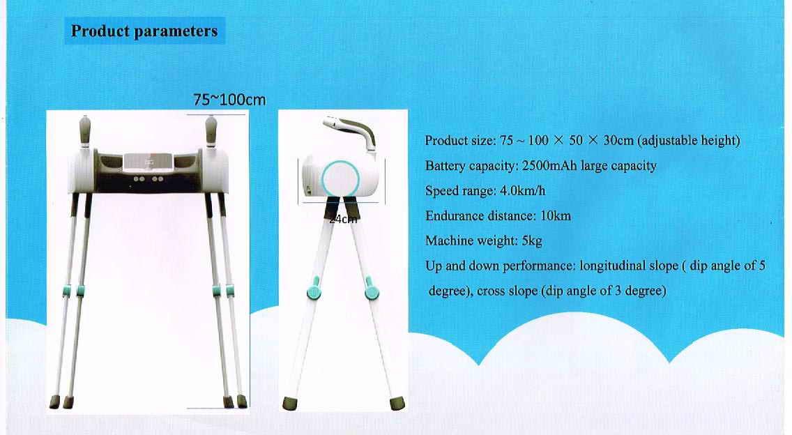 Re: robot walker & electric rollator