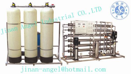 2T RO water treatment equipment for high quality drinking water