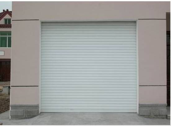 Double aluminium alloy door