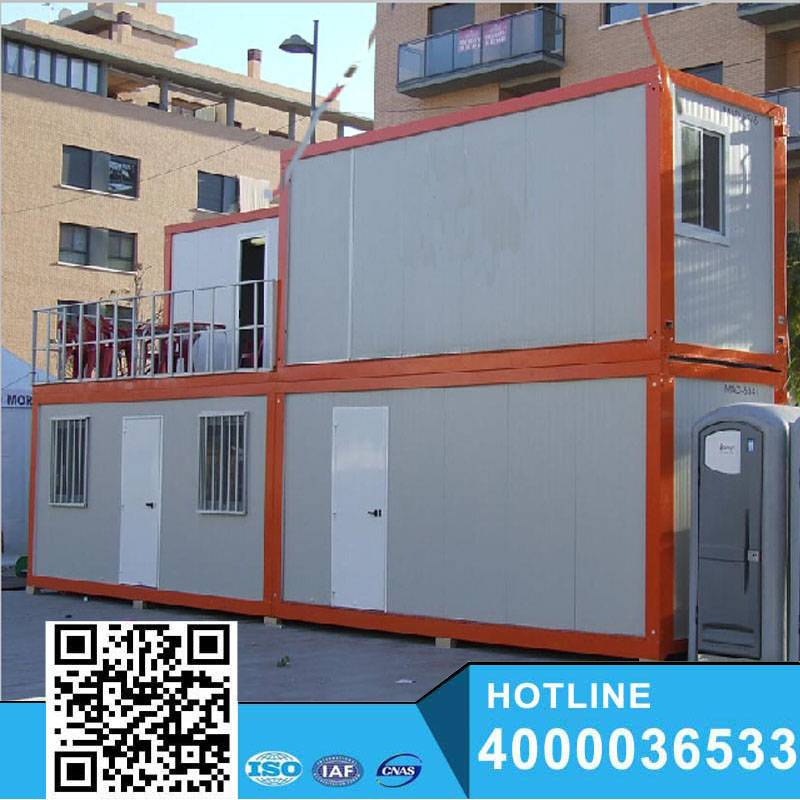 easy assemble container motel building house