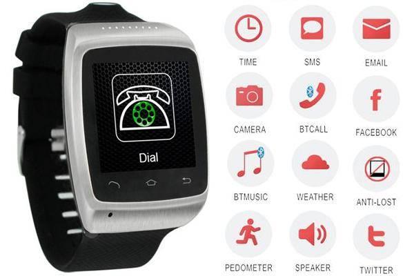 Esmart-E15 Bluetooth Camera Watch phone