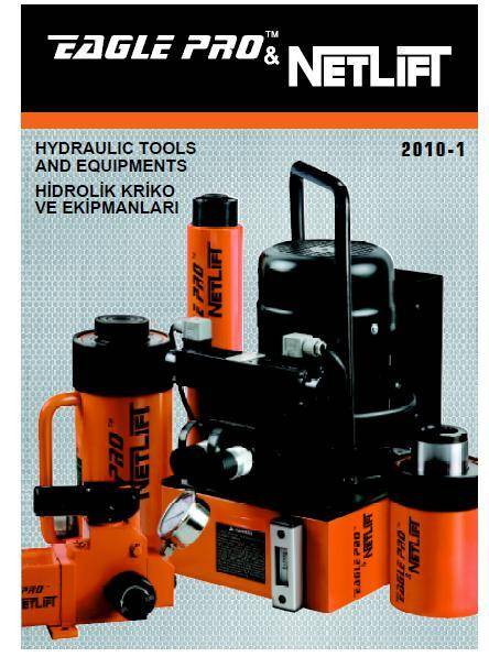 HYDRAULIC cylinders and jacks by NETLIFT